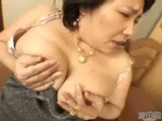 japanese, masturbating, mature, mommy
