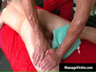 Boyfrend Gets Super Sexy Gay MasSage And Gets A Hardon 3 By Massagevictim