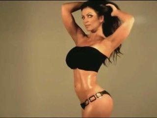 Denise Milani in Latex Fetish - non nude