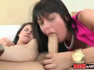 Lesbians Take Turn Sucking and Fucking