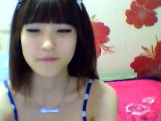 brunette, japanese, webcam, striptease