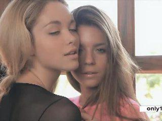 jong, kwaliteit tieners neuken, controleren zoenen klem