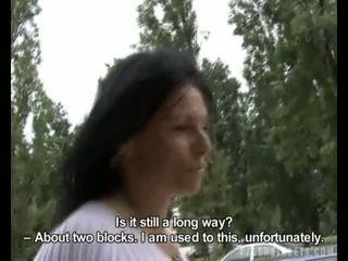 Tchèque streets - lenka forêt suçage vidéo