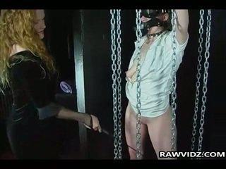 Nasty Girls Punished In Threeway