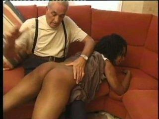 over the knee spanking, svižný, bičování