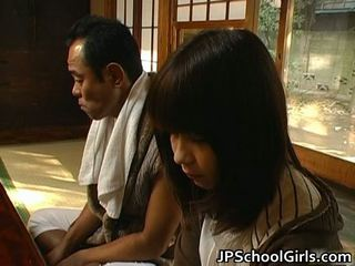 Haru sakuragi aziatike nxënëse has seks