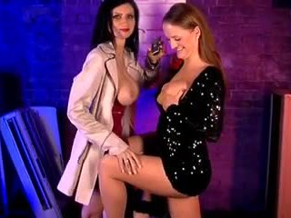 Lilly Roma and Victoria Roberts in the S66 Basement