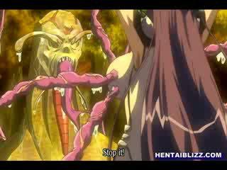 am meisten tentacles sehen, voll mädchen, heiß karikatur nenn