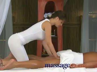 Rita peach - 按摩 rooms 大 公鸡 therapy 由 masseuse 同 大 奶