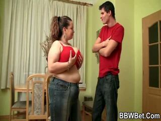 This Guy Can't Live Without A Great Bbw With Big Tits