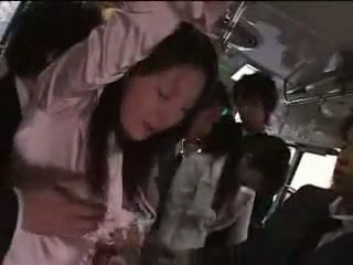 Japanese Girl Forced On Train
