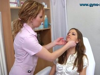 ideaal lesbisch thumbnail, speculum, vers gyno exams tube