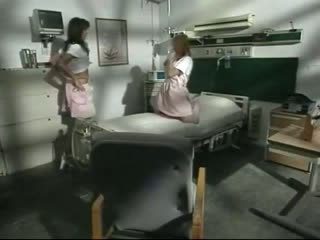 1980s porn shows Rough hospital 3some scene