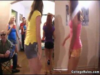 college kanaal, groepsseks video-, nieuw amateurs film