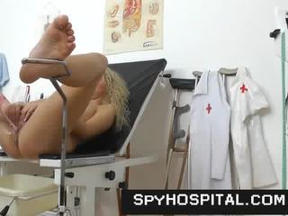 A hidden cam inside a gyno clinic