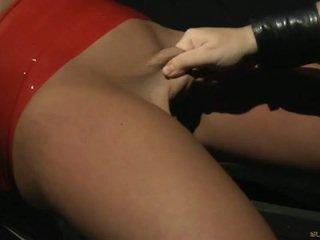 Blonde slave for bdsm tricks