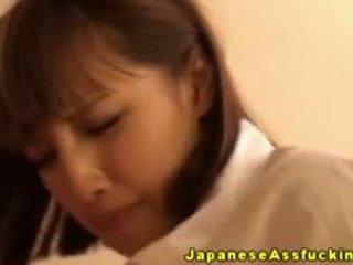 Asian Japanese Slut Fond Of Analsex