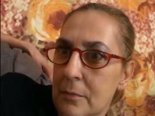 briunetė, močiutė, blowjob, akiniai