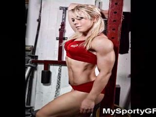 Fitness Babes And Muscled Gfs!