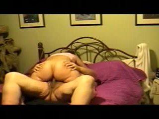 Chubby girl homemade riding Video
