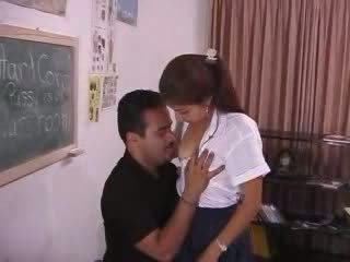 Pervert Professor Abusing Frightened Indian Teen Video