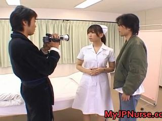 Ai Sayama Wicked Real Asian Nurse Is Hawt