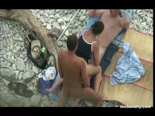 heet voyeur thumbnail, een strand porno, een hot nudism film