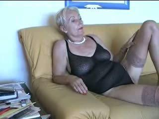 Mature lingerie Video