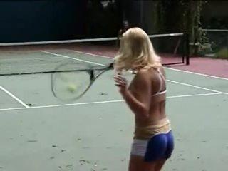 Tennis porno
