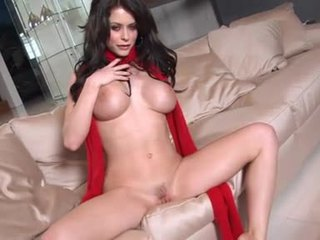 Emily Addison Feels The Rock Hard Toy GliDing In Her Meat Tunnel Like A Rod