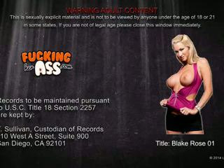 Eat Sleep Porn: Busty blonde Blake Rose gets her ass blasted hard