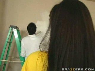 kvalita bruneta nový, online krásna prsia, nový lízať