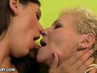 hot kyssing, fersk fitte slikking sjekk, ass licking mer