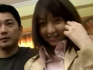 asian girl having vagina fingered