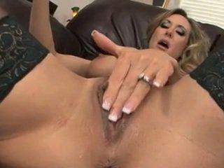 Brandi Love Stuffs Her Pussy Full Of A Massive Toy
