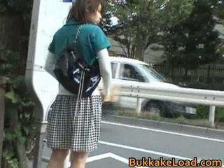 Babes zneužívány onto the autobus