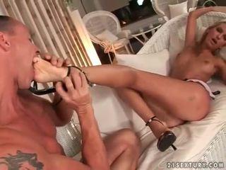 voet fetish neuken, heet pornstar neuken, nieuw sexy benen porno