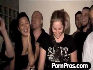 nieuw groepsseks scène, mooi orgie mov, echt sex partij scène