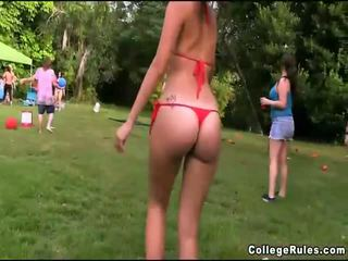 Free Horny College Party Girls