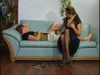 Ruský zralý teta s mladý chlapec.