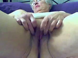 online webcam online, oma mehr, fett groß