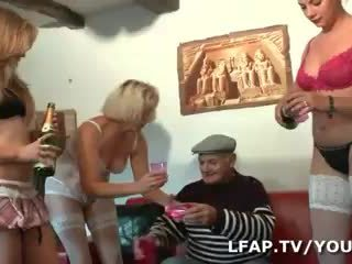4 culs francais صب l anniv de papy