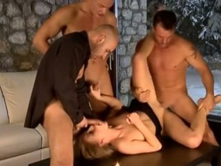 Sexy Foursome - Three Men on One Chick ((FYFF))