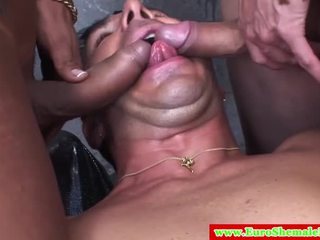 more shemale best, all tranny, threesome great