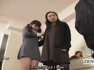 Subtitle الملبس أنثى العاري ذكر اليابانية تلميذة و جبهة مورو قبض على peeper