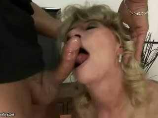 Granny getting fucked rough