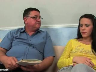 Amabella gets fucked by grandpa