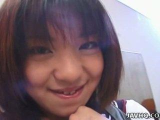 Rino sayaka âm hộ stimulation và nóng thiếu niên quái!