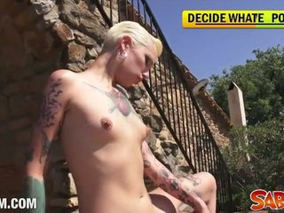 gratis tattoos, echt punker porno, cumshot scène