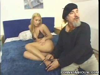 Shlong Slurping Blonde Porn Star